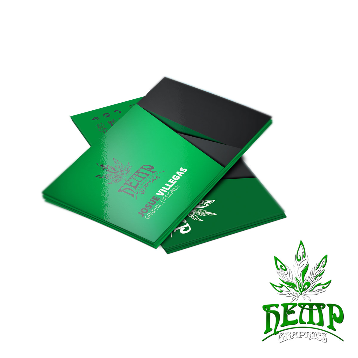 Standard Business Cards - Hemp Graphics | Medical Marijuana ...