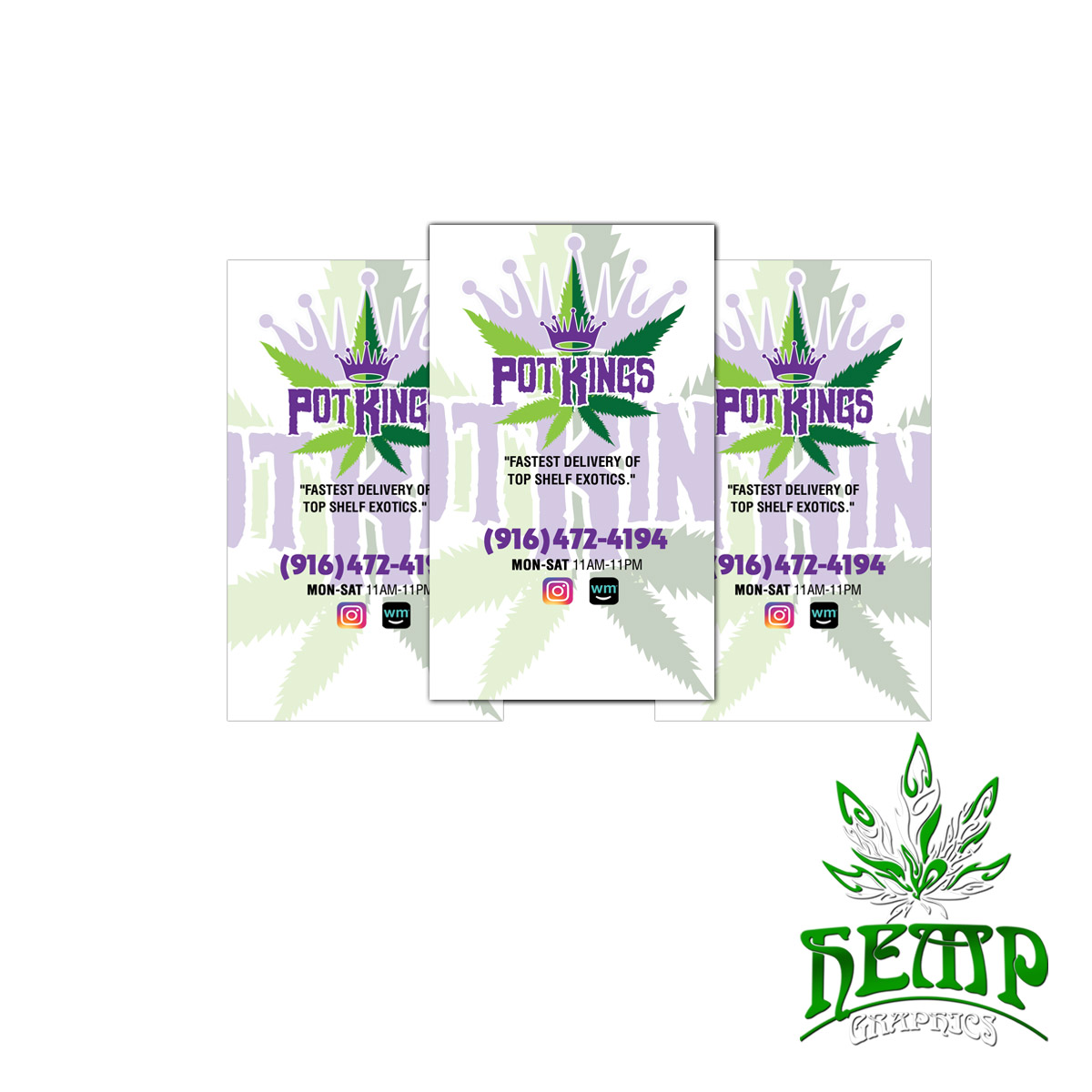 Magnet business cards hemp graphics medical marijuana stickers zoom images solutioingenieria Image collections